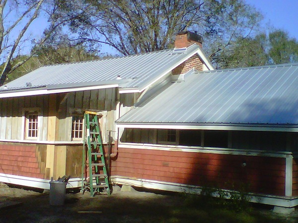 AG Panel Metal Roof Installed in Pasco County